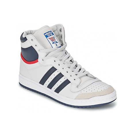 Adidas TOP TEN HI men's Shoes (High-top Trainers) in White
