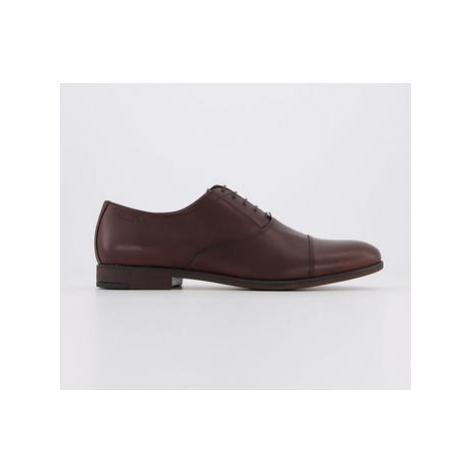 Vagabond Linhope Toe Cap Shoe DARK BROWN