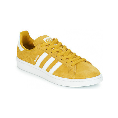 Adidas CAMPUS men's Shoes (Trainers) in Yellow