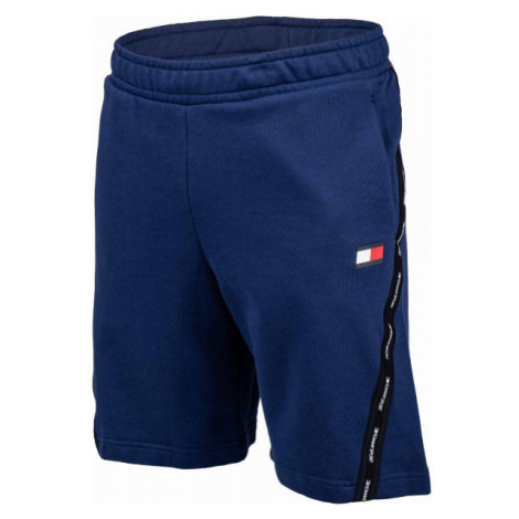 Tommy Hilfiger FLEECE TAPE SHORT dark blue - Men's shorts