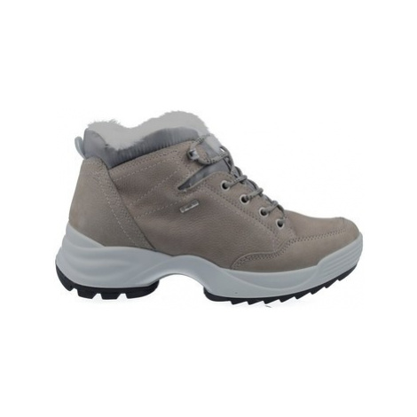 Igi co 41608 Botines Casual GTX con Cordones de Mujer women's Shoes (High-top Trainers) in Grey Igi&Co
