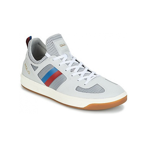 Polo Ralph Lauren COURT 201 men's Shoes (Trainers) in Grey