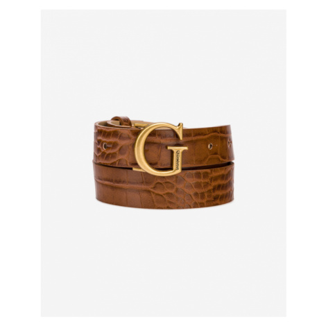 Guess Corily Belt Brown