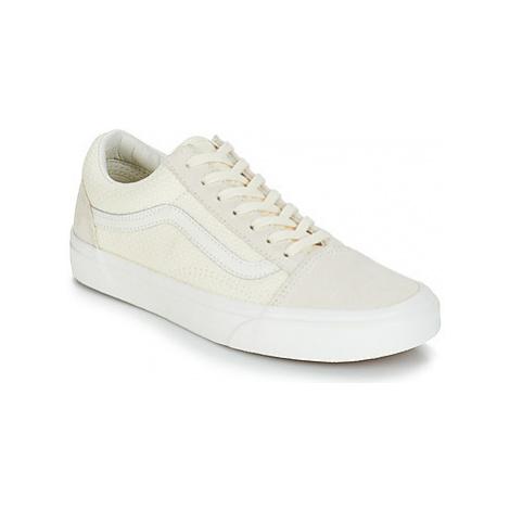 Vans OLD SKOOL women's Shoes (Trainers) in Beige