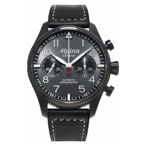 Mens Alpina Startimer Pilot Automatic Chronograph Watch AL-860GB4FBS6