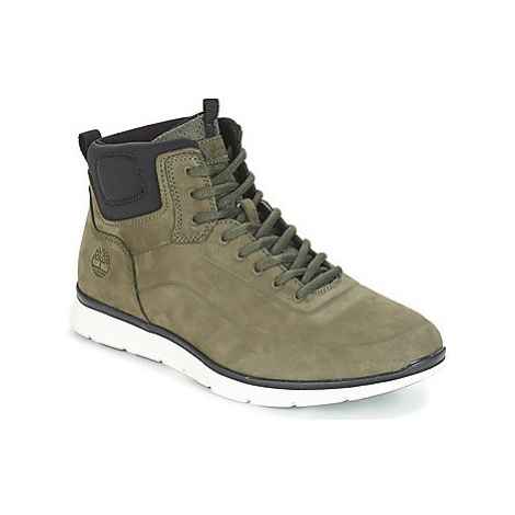Timberland Killington No Sew Chk men's Shoes (High-top Trainers) in Green