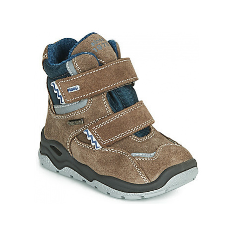 Primigi WICK GORE-TEX boys's Children's Mid Boots in Brown