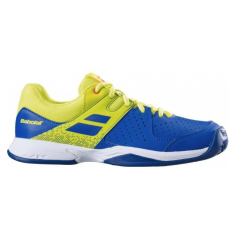 Babolat PULSION JR CLAY yellow - Children's tennis shoes
