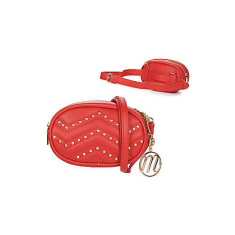 Moony Mood FEDA women's Hip bag in Red