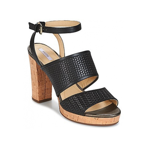 Geox MAUVELLE A women's Sandals in Black