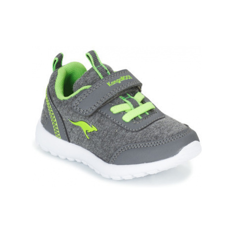 Kangaroos CITYLITE EV girls's Children's Shoes (Trainers) in Grey