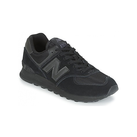 New Balance ML574 women's Shoes (Trainers) in Black