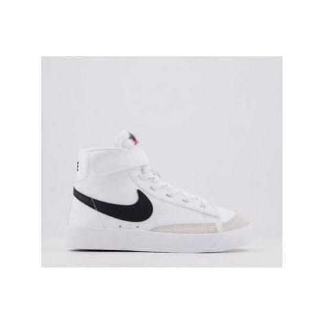 Nike Blazer Mid '77 Ps WHITE BLACK TOTAL ORANGE