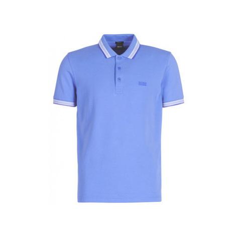 BOSS PADDY men's Polo shirt in Blue Hugo Boss