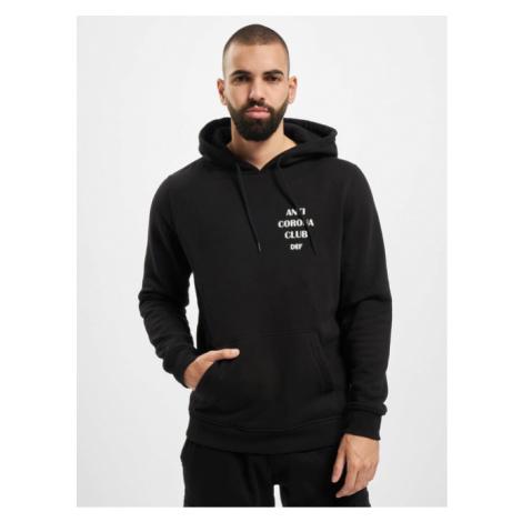DEF / Hoodie Anti Corona in black
