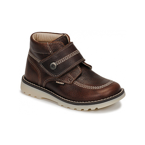 Pablosky 594191 boys's Children's Mid Boots in Brown