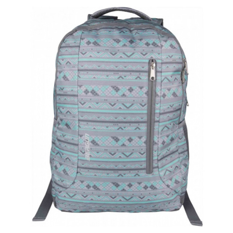 Bergun DREW23 dark gray - School backpack
