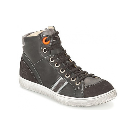 GBB ANGELO boys's Children's Shoes (High-top Trainers) in Black