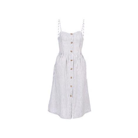 Only ONLLUNA women's Long Dress in White