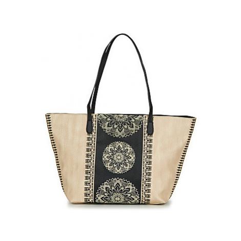Desigual LADY CAPRI ZIPPER women's Shoulder Bag in Beige