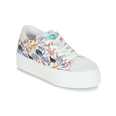Ippon Vintage TOKYO ZOO women's Shoes (Trainers) in White