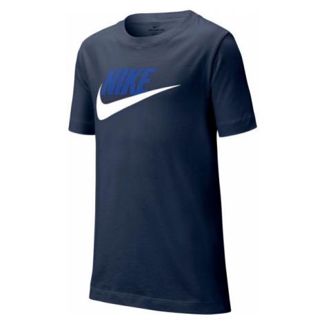 Nike NSW TEE FUTURA ICON TD B blue - Boys' T-shirt
