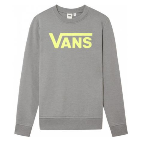 Vans WM CLASSIC V CREW grey - Women's sweatshirt