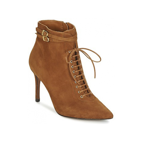 Heyraud DONKA women's Low Ankle Boots in Brown