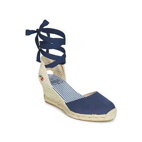 Le Temps des Cerises POLY women's Espadrilles / Casual Shoes in Blue