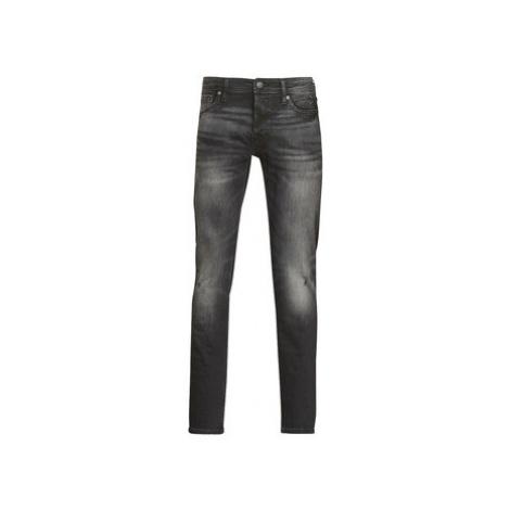 Black men's slim jeans