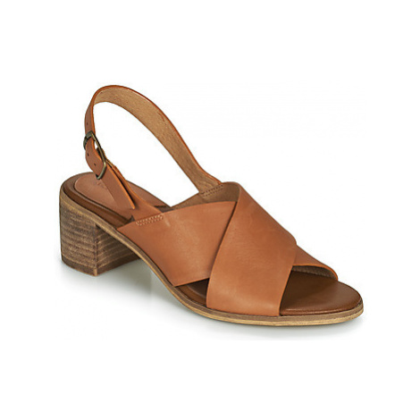 Kickers VICTORIANE women's Sandals in Brown
