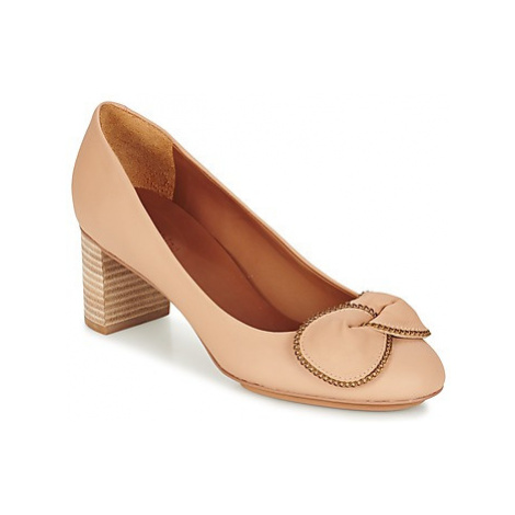 See by Chloé SB28146 women's Court Shoes in Beige
