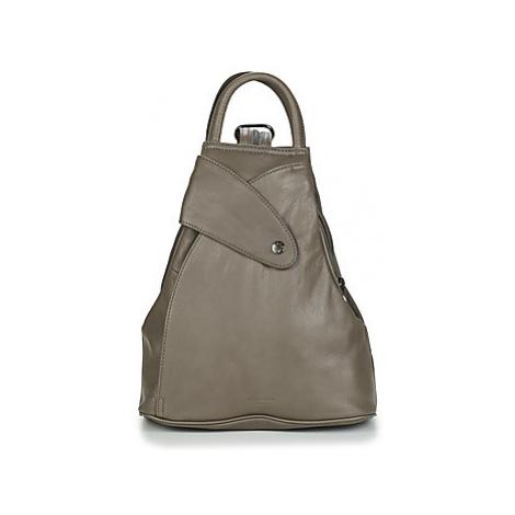 Hexagona - women's Backpack in Grey