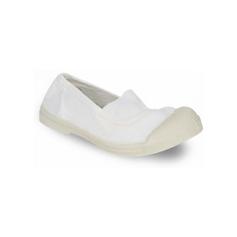 Bensimon MILONGA girls's Children's Shoes (Pumps / Ballerinas) in White