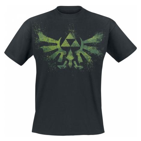 The Legend Of Zelda - Wingcrest - Triforce - T-Shirt - black