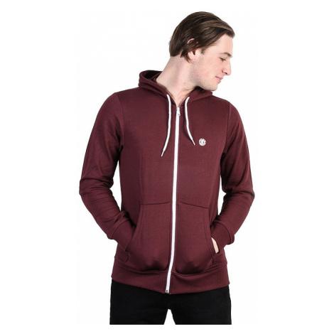 sweatshirt Element Cornell Classic Zip - Napa Red - men´s