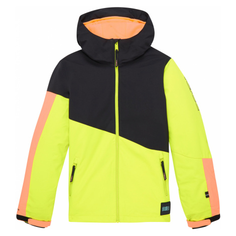 O'Neill Magnatite Kids jacket Black Yellow