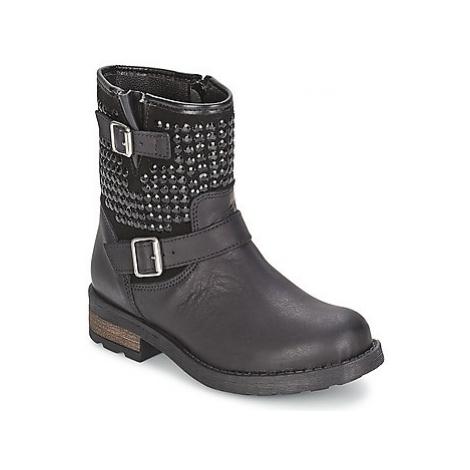 Citrouille et Compagnie JULY girls's Children's Mid Boots in Black