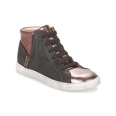GBB CARLA girls's Children's Shoes (High-top Trainers) in Black