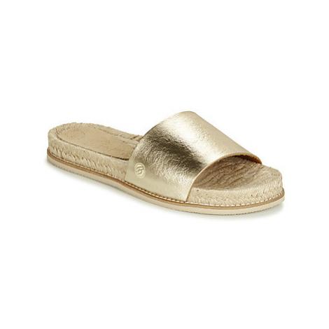Betty London JIKOTI women's Mules / Casual Shoes in Gold