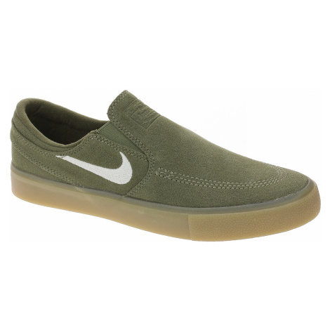 shoes Nike SB Zoom Janoski Slip RM - Medium Olive/White/Medium Olive