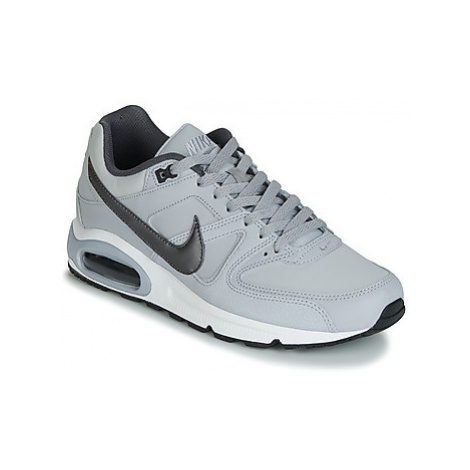 Nike AIR MAX COMMAND LEATHER men's Shoes (Trainers) in Grey