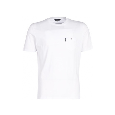 Ben Sherman CLASSIC SPADE POCKET TEE men's T shirt in White