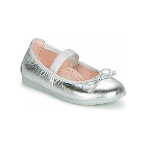 Pablosky 331250-C girls's Children's Shoes (Pumps / Ballerinas) in Silver