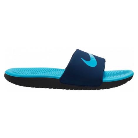 Nike KAWA blue - Kid's slippers