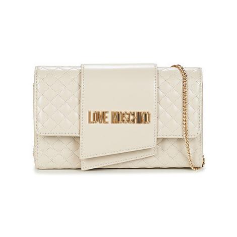 Love Moschino JC4314 women's Shoulder Bag in White