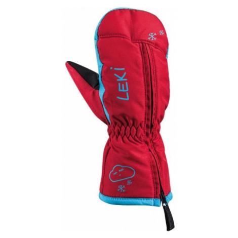Leki LITTLE SNOW MITT red - Kids' winter gloves