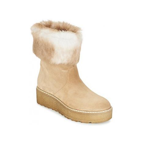 Nome Footwear MOVETTA women's Mid Boots in Beige