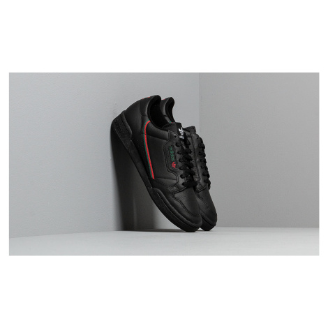 adidas Continental 80 Core Black/ Scarlet/ Core Green