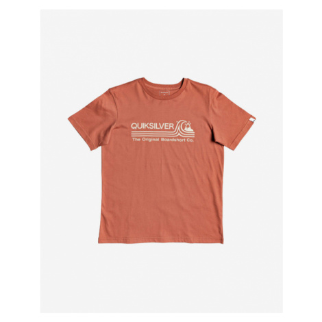 Quiksilver Stone Cold Classic Kids T-shirt Orange